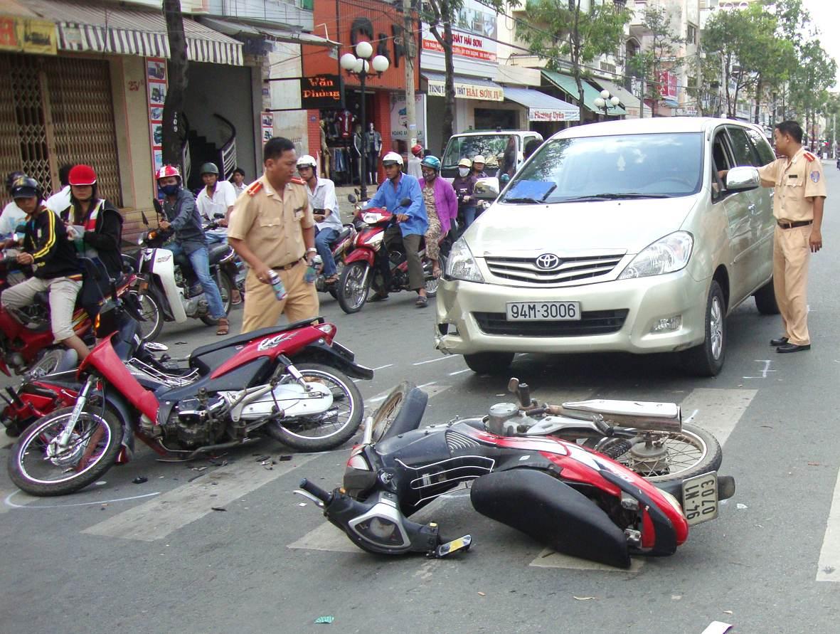 Việc gây tai nạn giao thông cần bồi thường tuân theo quy định